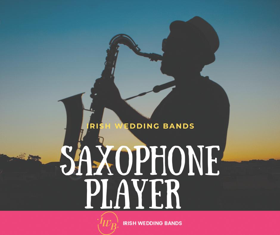 sax player for weddings
