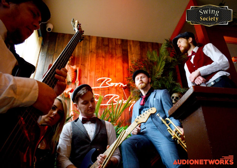 Swing Society Band - swing band for weddings