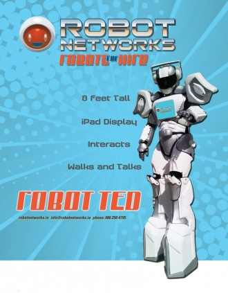 Robot Networks Ireland & Robot-TED