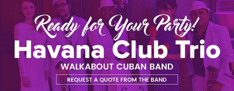 Havana Club Trio Latin Entertainment | Latin Wedding Band