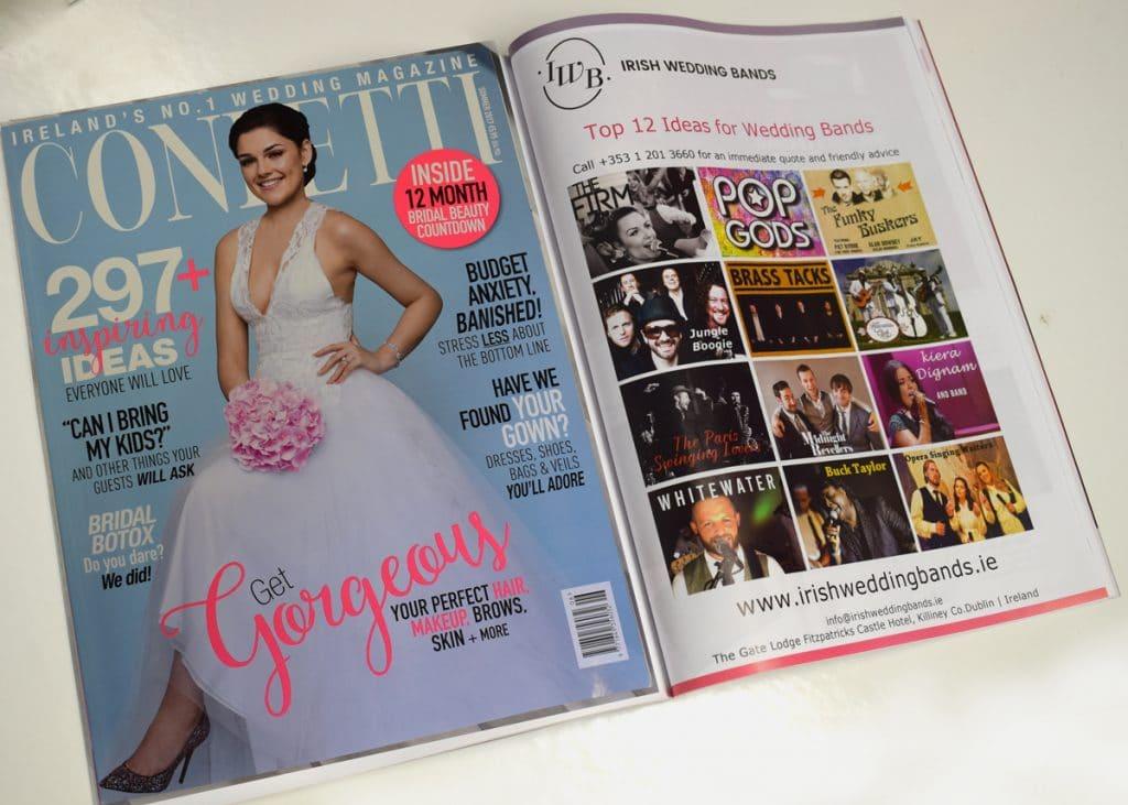 Top Irish Wedding Bands Featured In Hit Wedding Magazine