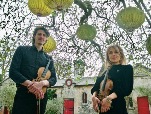 Duet Justice Violin Duo for Wedding Entertainment